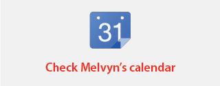 Melvyn's calendar